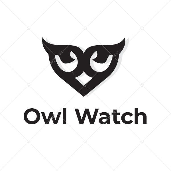 Angry Owl Watch Logo