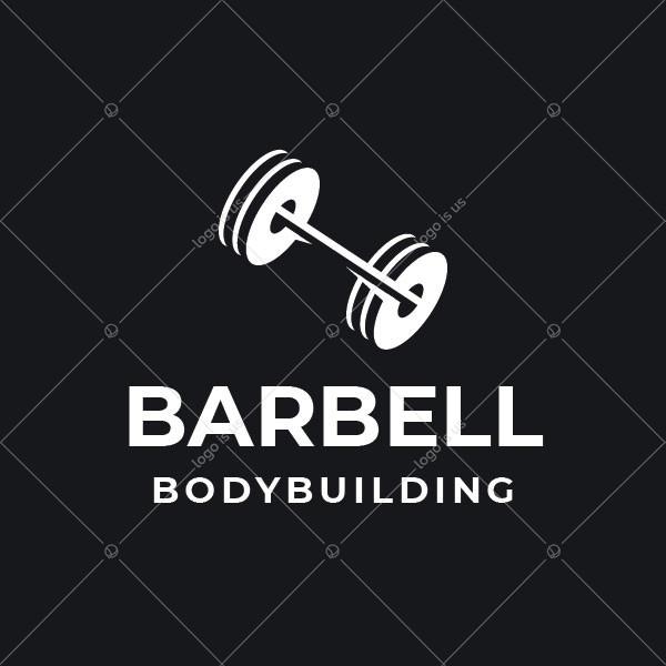 Barbell Body Building Logo