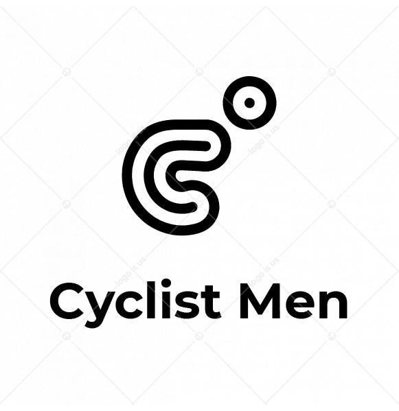 Cyclist Men Logo