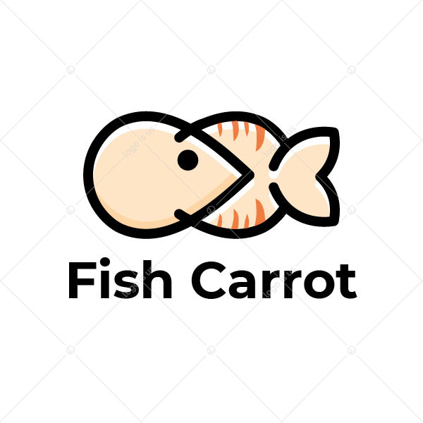 Fish Carrot Logo