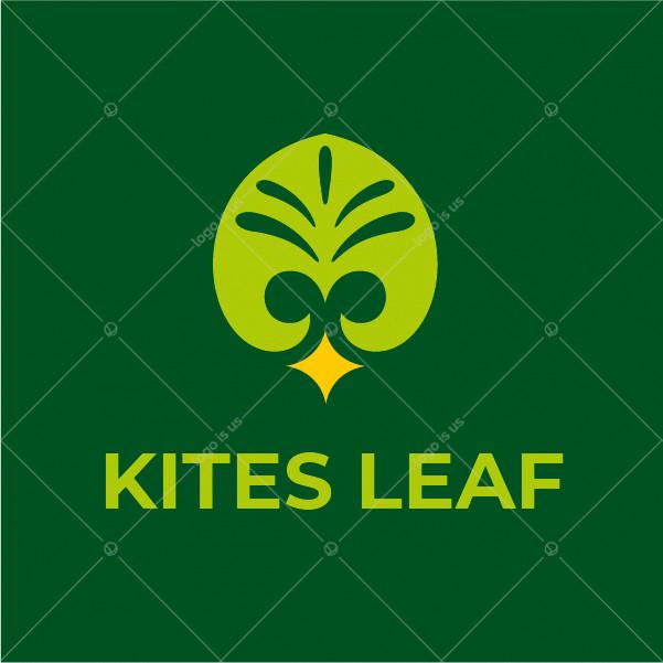 Kites Leaf Logo