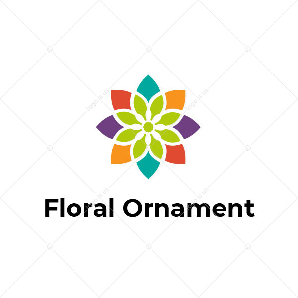 Floral Ornament Logo