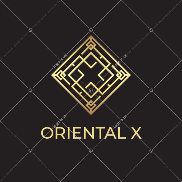letter x Oriental