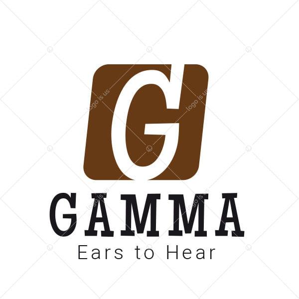 Gamma Brown G Letter Logo