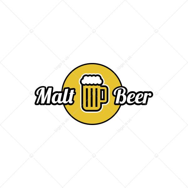 Malt Beer Logo
