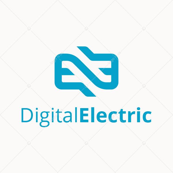 Digital Electric Logo