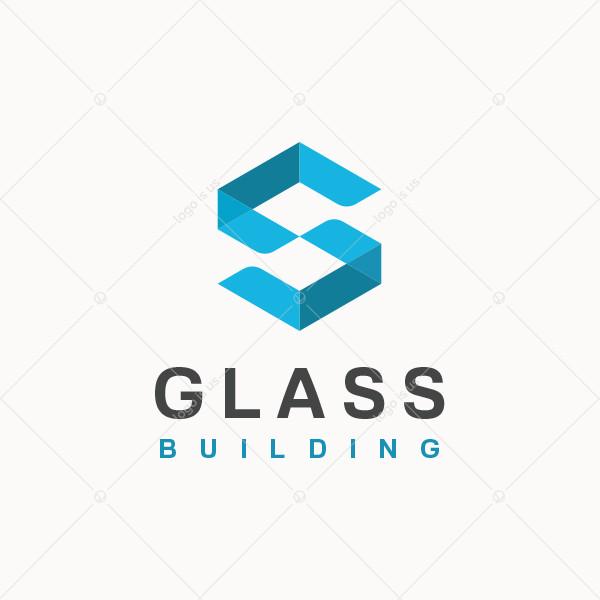 Glass Building Logo