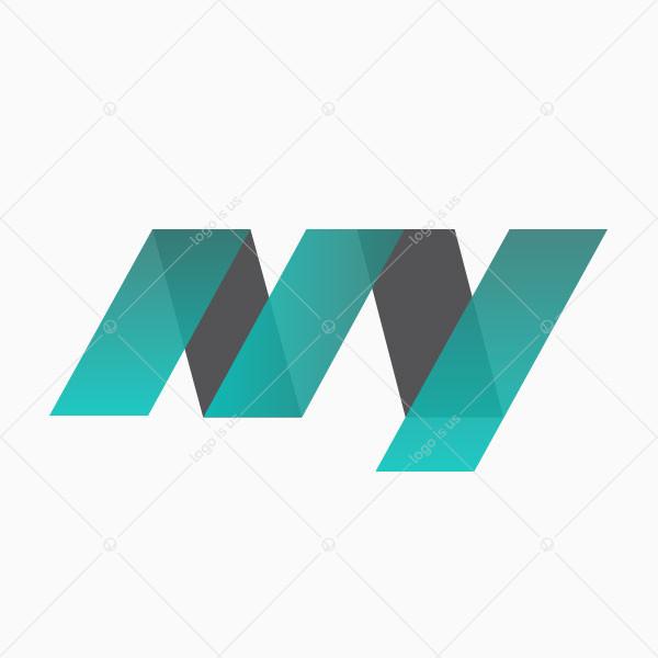 NY Initials Logo