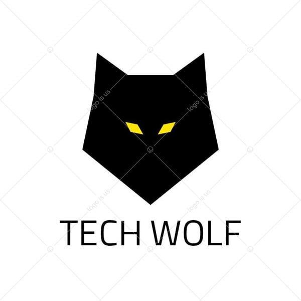 Tech Wolf Logo
