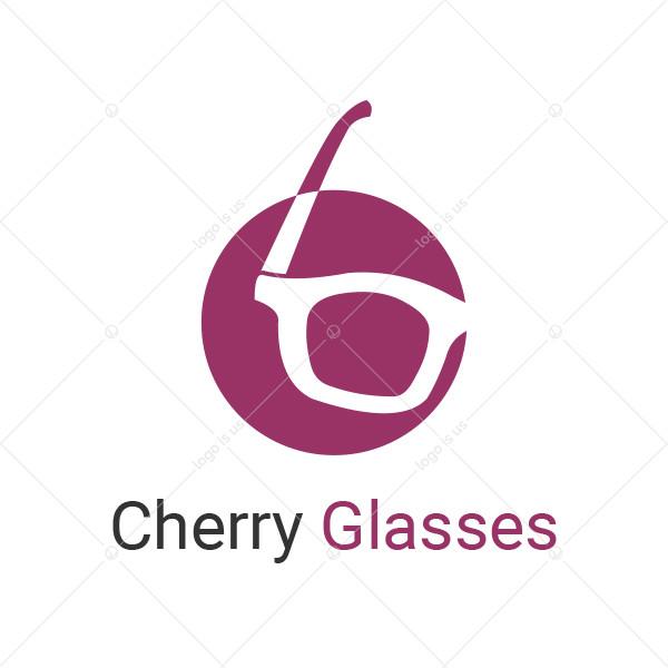 Cherry Glasses Logo