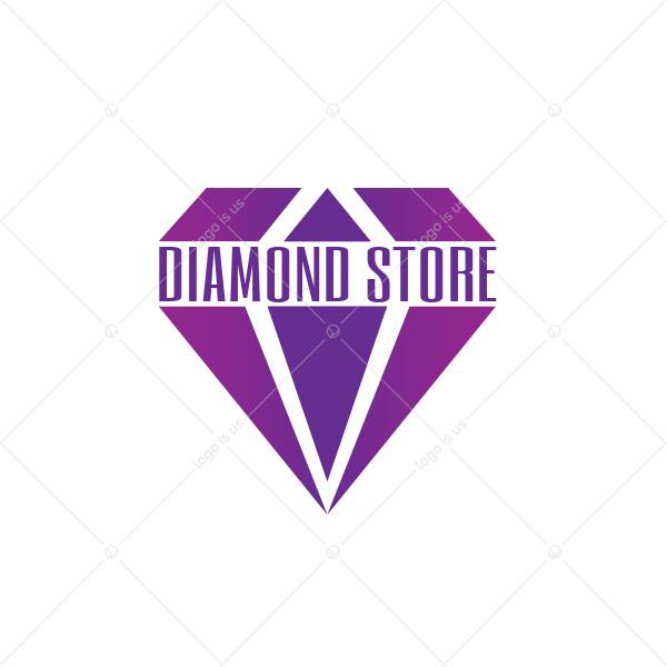 Diamond Store Logo
