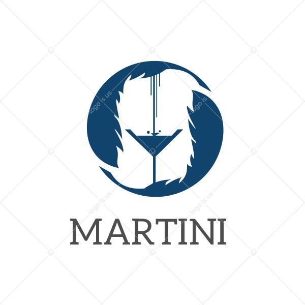 Martini Glass Logo