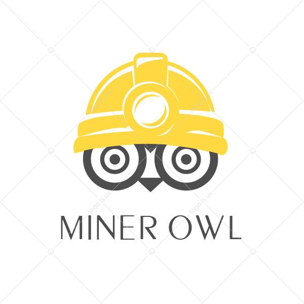 Miner Owl Logo