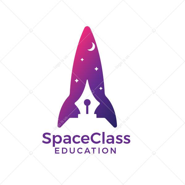Space Class Education Logo