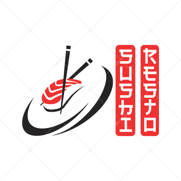 Sushi Resto Logo