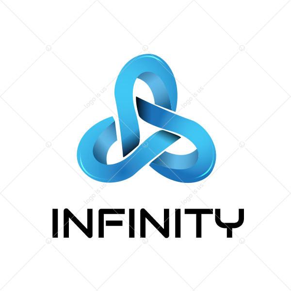 Blue Infinity Logo