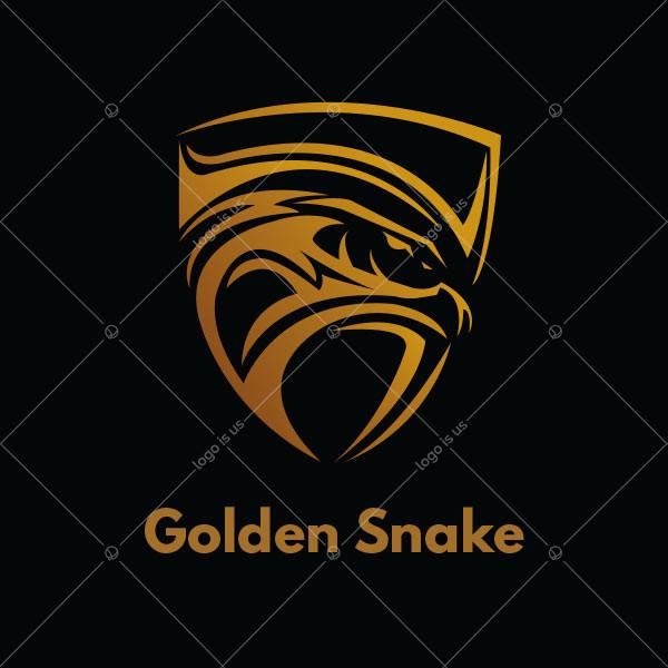 Golden Snake Logo