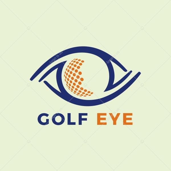 Golf Eye Logo