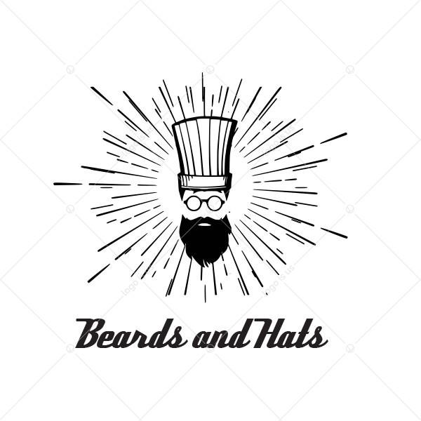Beards and Hats Logo