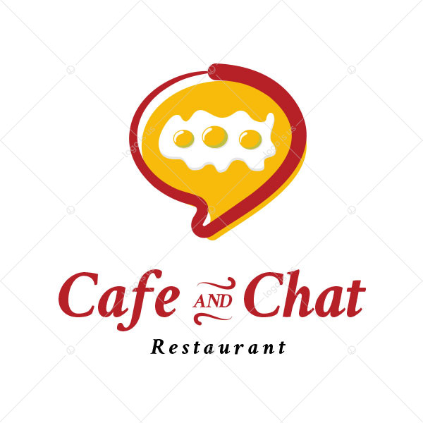 Cafe and Chat Logo