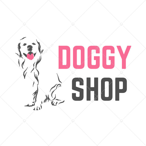 Doggy Shop Logo