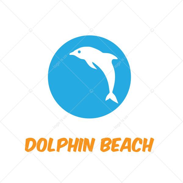 Dolphin Beach Logo