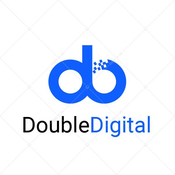 Double Digital Logo