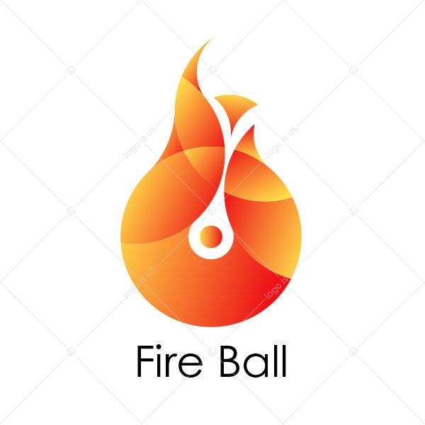 Fire Ball Logo