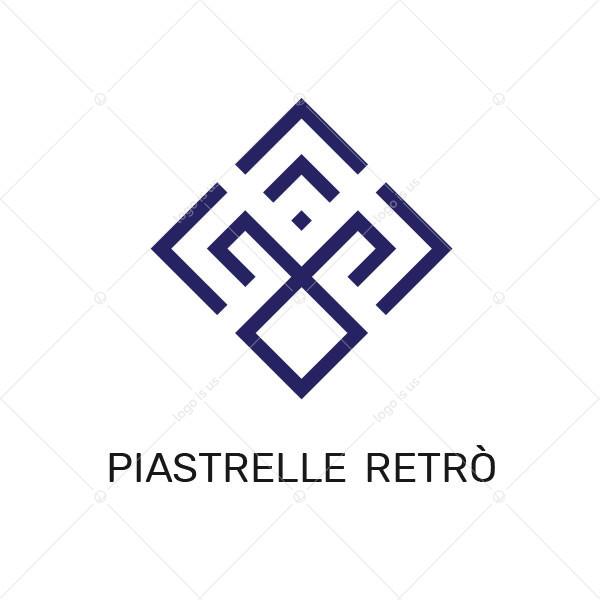Piastrelle Retro Logo