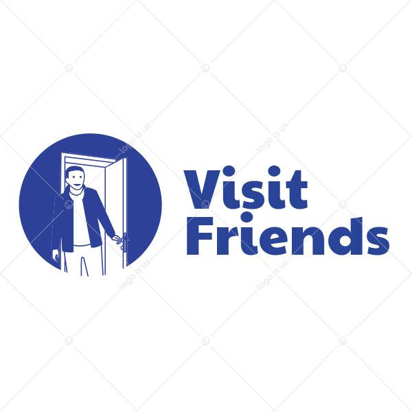 Visit Friends Logo