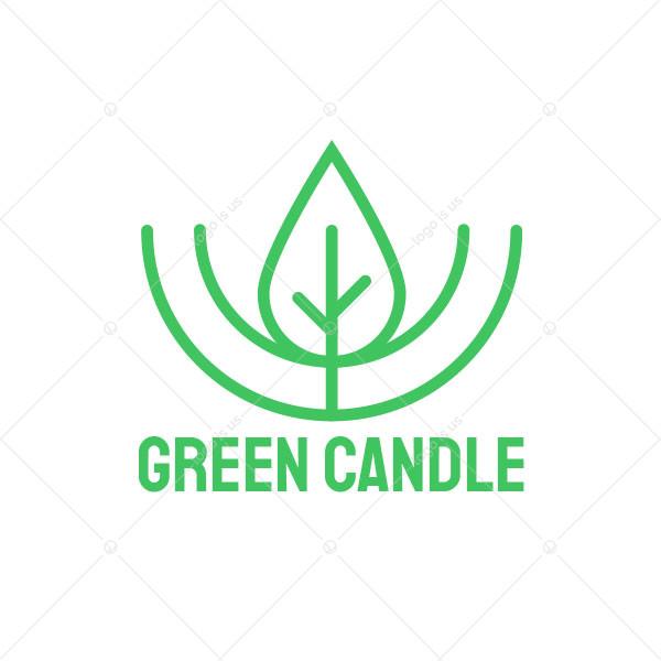 Green Candle Logo