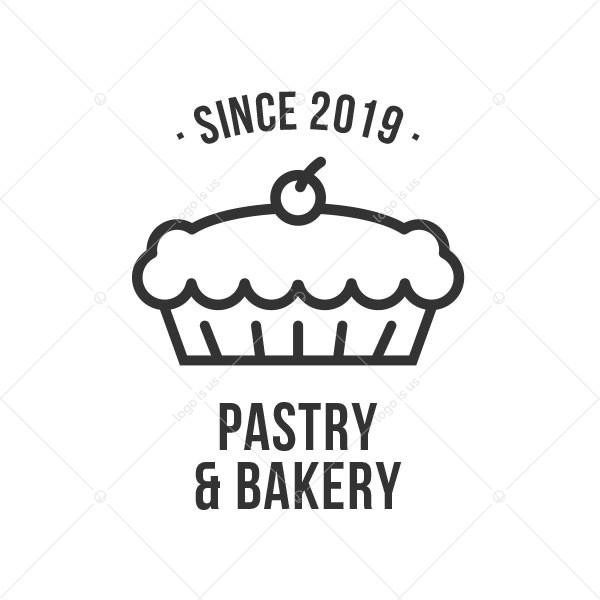 Pastry Bakery Logo