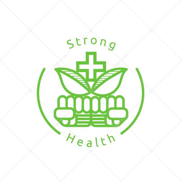 Strong Health Logo
