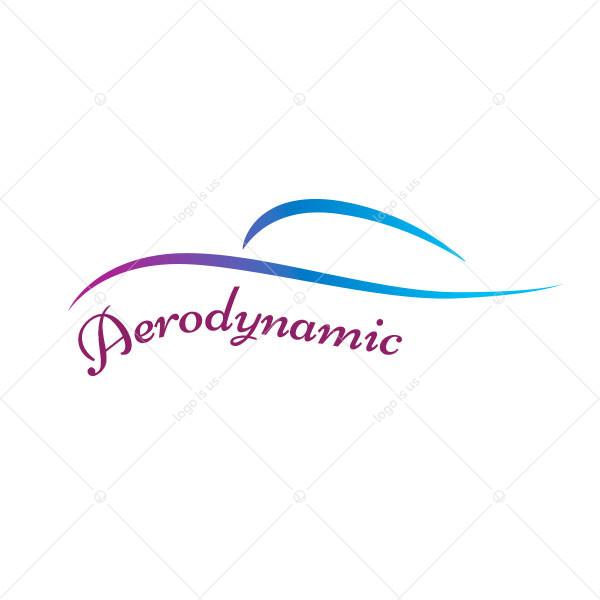 Aerodynamic Logo