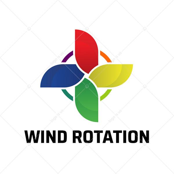 Wind Rotation Logo