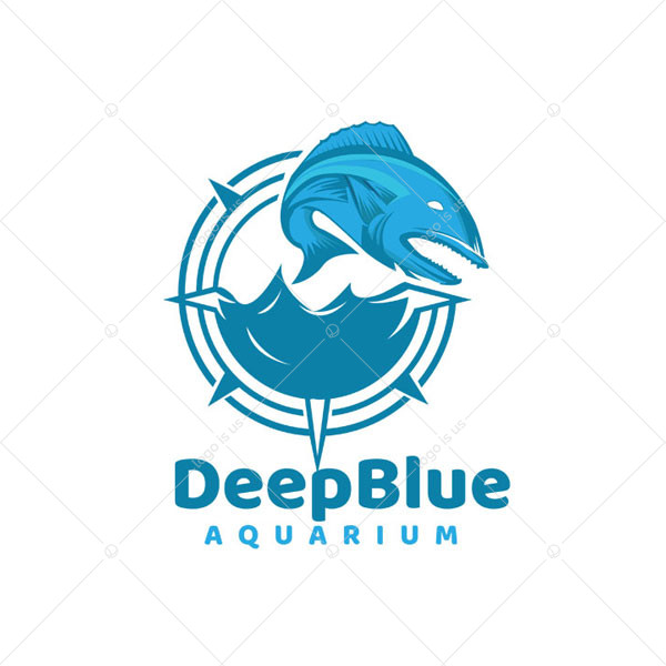 DeepBlue Aquarium Logo
