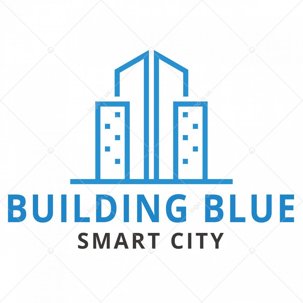 Building Blue logo