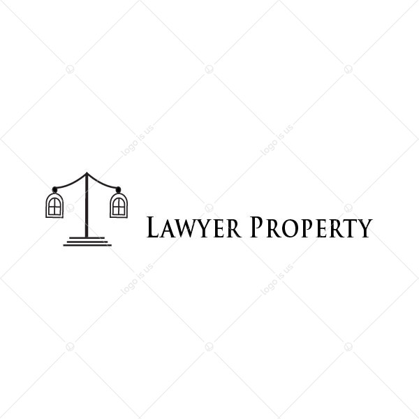 Lawyer Property Logo
