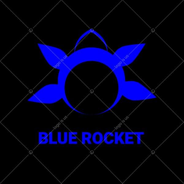 Blue Rocket Logo