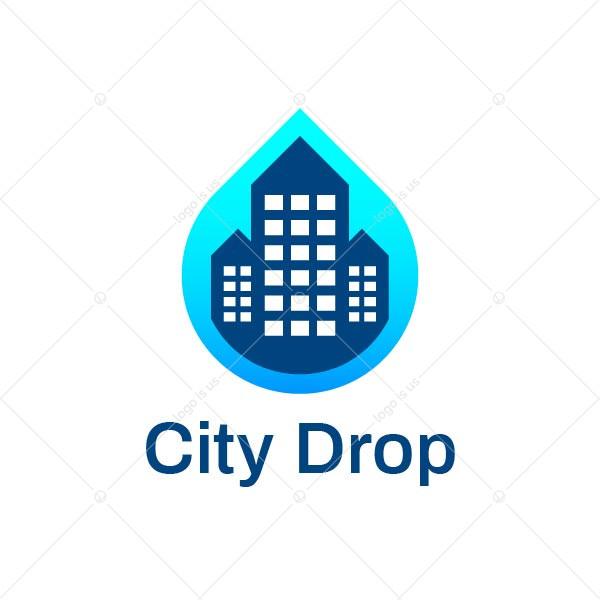City Drop Logo