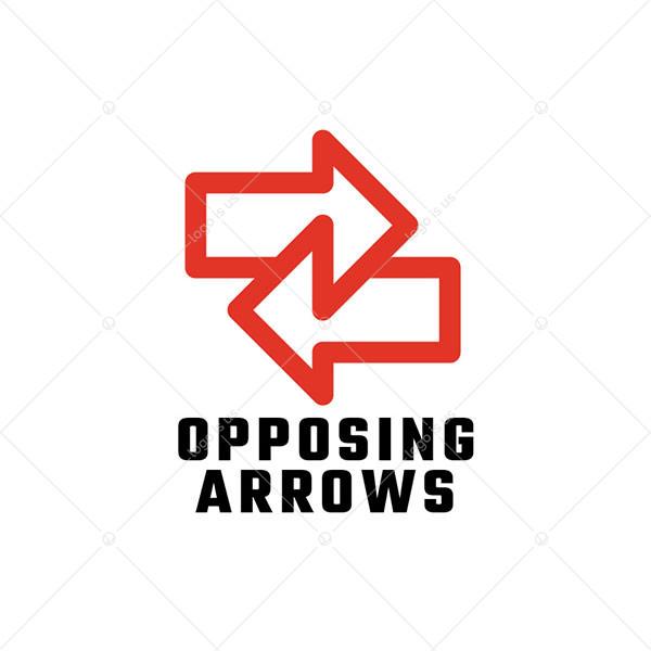 Opposing Arrows Logo