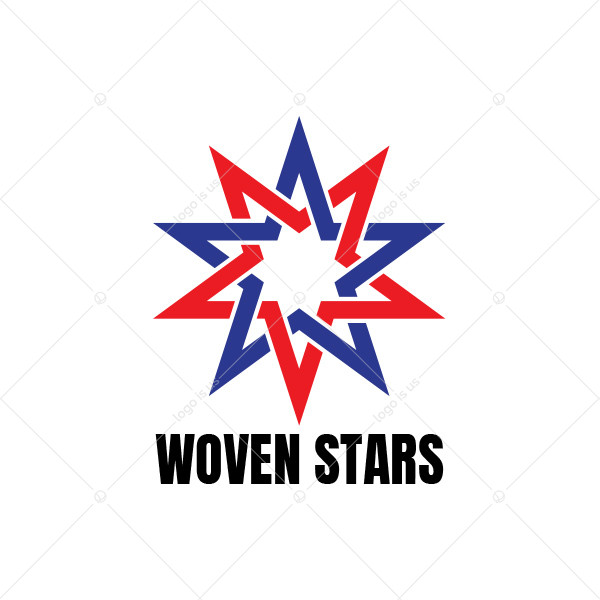 Woven Stars Logo