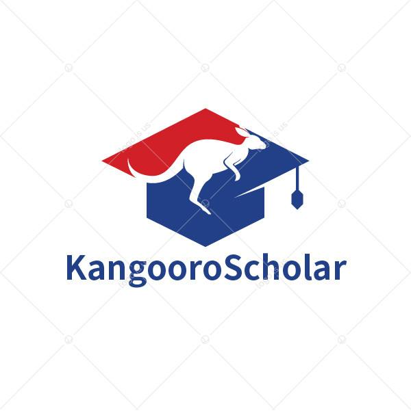 Kangaroo Scholar Logo