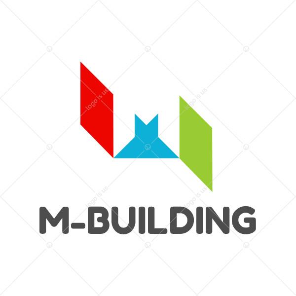 M-Building Logo
