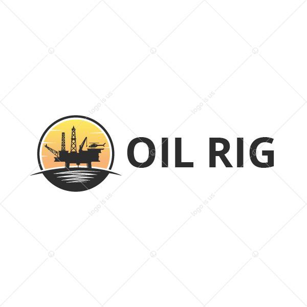 Oil Rig Logo