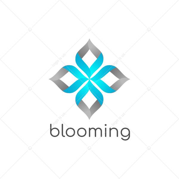 Blooming Corporate Stylish Logo