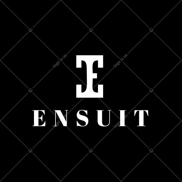 Ensuit Stylish Letter E Logo