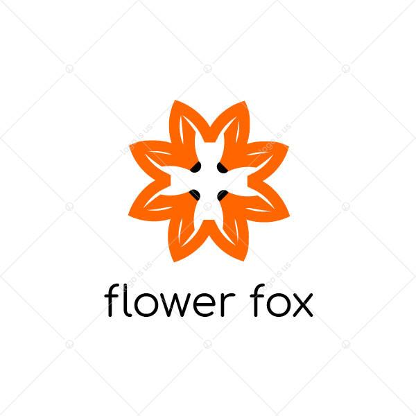 Flower Fox Logo