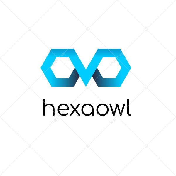 Hexa Owl Logo
