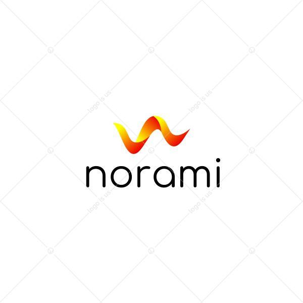 Norami 3D Letter N Logo